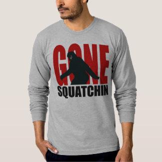 Gone Squatchin (Red & Black) T-Shirt