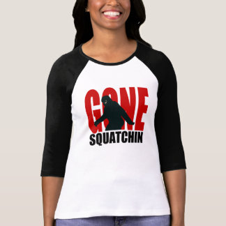 Gone Squatchin (Red & Black) T-Shirt