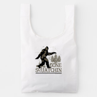 Gone Squatchin Reusable Bag