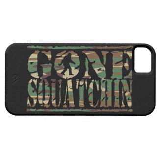 Gone Squatchin' Sasquatch iPhone 5 Case