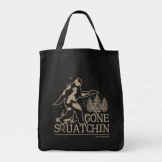 Gone Squatchin Sasquatch Tote Bag