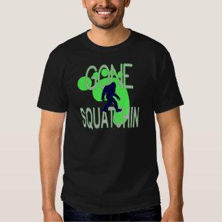 gone squatchin shirt