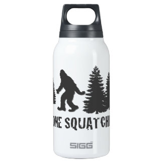Gone Squatchin' Silhouette Insulated Water Bottle