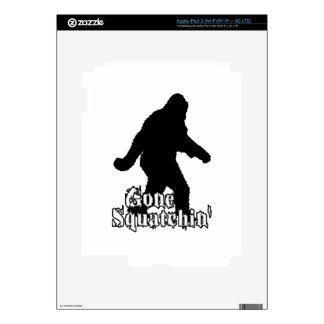 Gone Squatchin' Decal For iPad 3