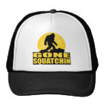 GONE SQUATCHIN *Special* BARK AT THE MOON edition Mesh Hat