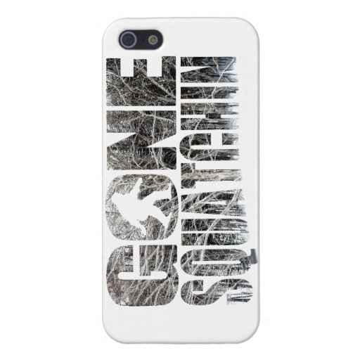 Gone Squatchin **Special Winter Edition** iPhone 5 Cover