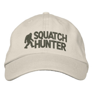 Gone Squatchin - Squatch Hunter Embroidered Baseball Cap