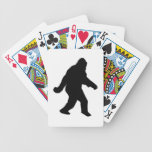 Gone Squatchin - Squatch Silhouette Playing Cards