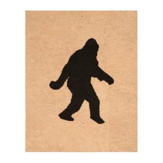 Gone Squatchin - Squatch Silhouette Queork Photo Prints