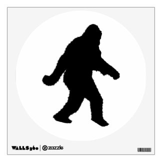Gone Squatchin - Squatch Silhouette Room Decal
