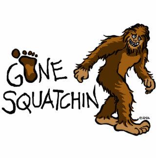 Gone Squatchin Statuette