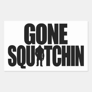 Gone Squatchin Sticker