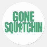 Gone Squatchin Stickers