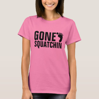 GONE SQUATCHIN T-SHIRT PINK