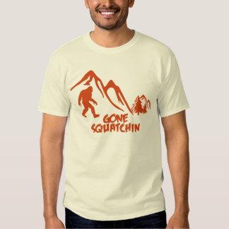 Gone squatchin tee shirt