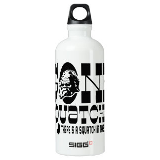 Gone Squatchin - There's a Squatch in these Woods Water Bottle