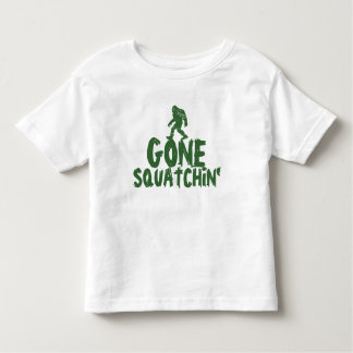 Gone Squatchin Toddler T-shirt