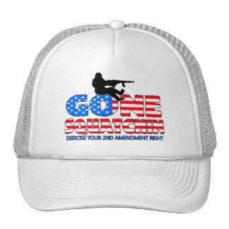Gone Squatchin USA Trucker Hat