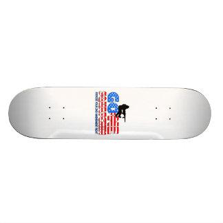 Gone Squatchin USA Skateboard Deck