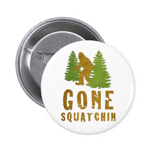 Gone Squatchin (Vintage) Buttons