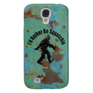Gone Squatchin Vintage Galaxy S4 Cover