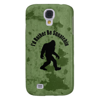 Gone Squatchin Vintage Samsung Galaxy S4 Cover