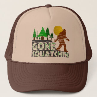 Gone Squatchin Vintage Distressed Hat