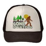 Gone Squatchin Vintage Distressed Hat