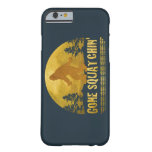 Gone Squatchin' (vintage sunset) Barely There iPhone 6 Case