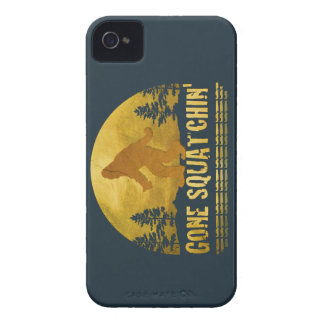 Gone Squatchin' (vintage sunset) iPhone 4 Cover