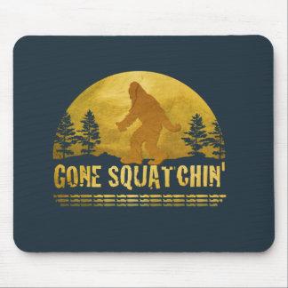 Gone Squatchin' (vintage sunset) Mouse Pad