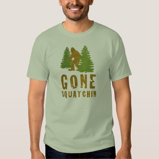 Gone Squatchin (Vintage) Tee Shirts