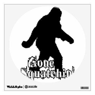 Gone Squatchin' Wall Graphics