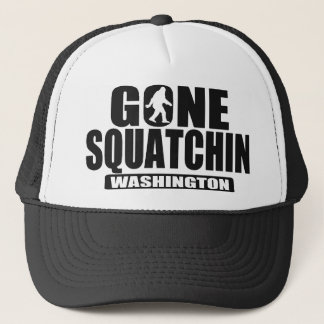 Gone Squatchin WASHINGTON *State Edition* Hat