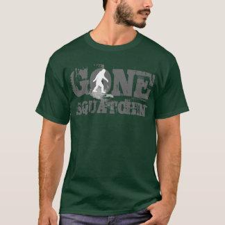 Gone Squatchin  *white logo* T-Shirt
