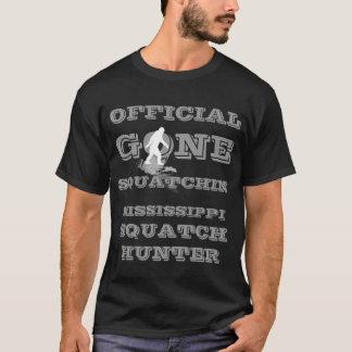 Gone Squatchin  *white  squatch* T-Shirt