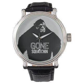 Gone Squatchin with Bigfoot Watches