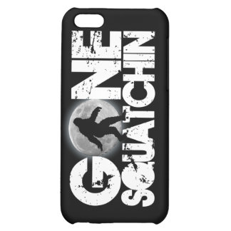 Gone Squatchin with full moon background iPhone 5C Covers