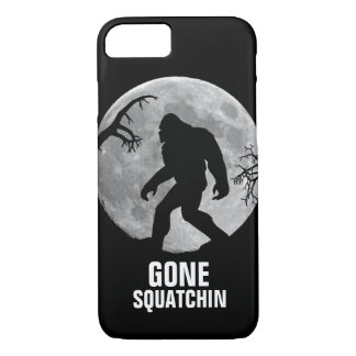 Gone Squatchin with moon and silhouette iPhone 7 Case