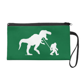 Gone Squatchin with T-rex Wristlet Clutches