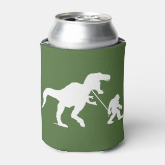 Gone Squatchin with T-rex Can Cooler