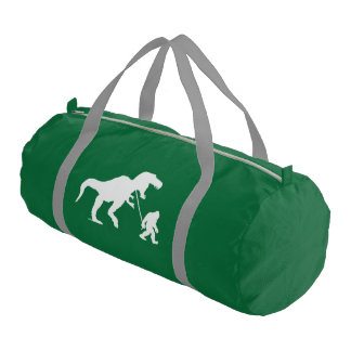 Gone Squatchin with T-rex Duffle Bag