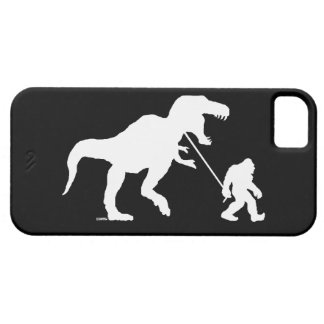 Gone Squatchin with T-rex iPhone SE/5/5s Case