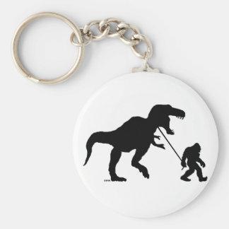 Gone Squatchin with T-rex Keychain