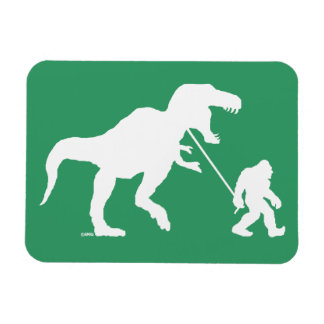 Gone Squatchin with T-rex Magnet