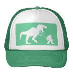 Gone Squatchin with T-rex Trucker Hat