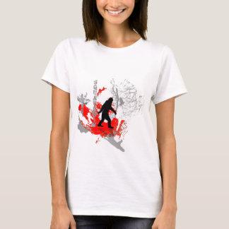 Gone Squatchin  woodland T-Shirt
