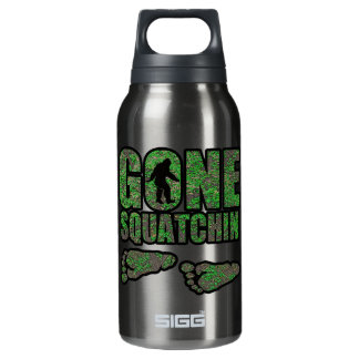 Gone Squatchin woodlands Insulated Water Bottle