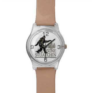 Gone Squatchin Wrist Watches