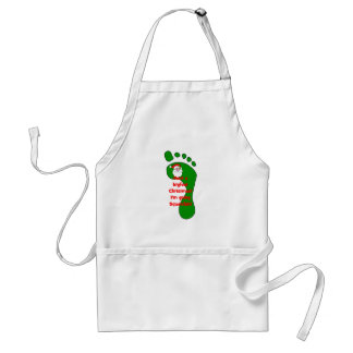 gone squatching Christmas Aprons